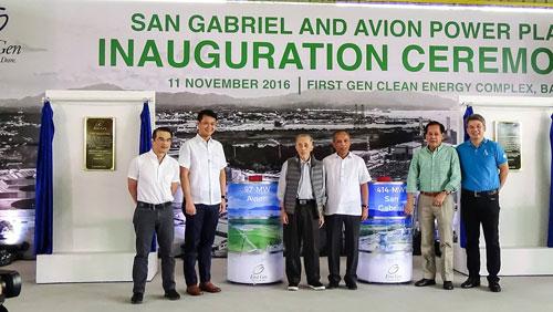 San Gabriel Avion Natural Gas Plants