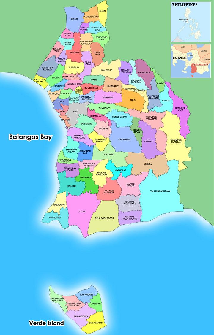 Batangas City Official Website   Batangas City Map